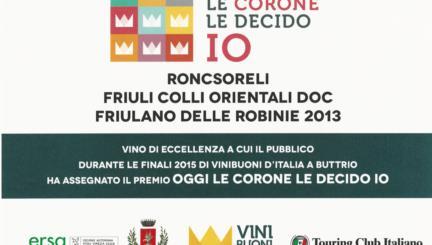 friulano 2013 di roncsoreli nelle corone le decido io guida vinibuoni d'italia 2016